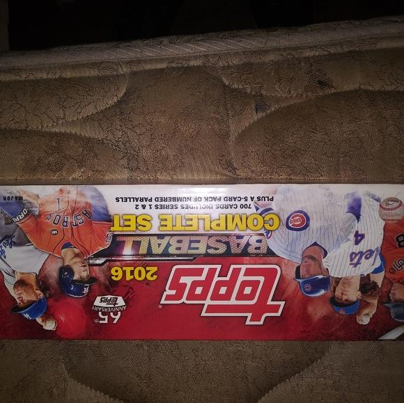 Topps 2016 Complete Baseball 700 cards 1&2